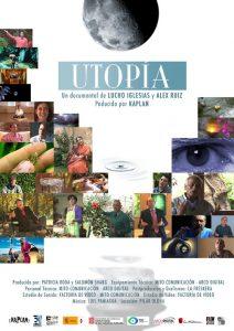 Cartel de Utopía, un documental de Lucho Iglesias y Álex Ruiz