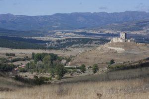 Castillo de los Zúñiga, en Galve de Sorbe. Fotografía de Rober f García.