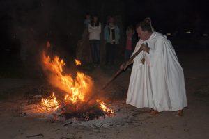 Fiesta del Plenilunio, en Hotel-Restaurante Termes. Fotografía de Rober f García.