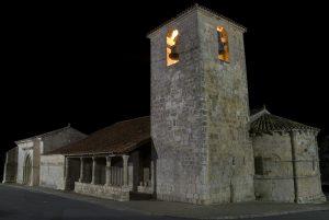 Iglesia de San Bartolomé y Capilla de San Galindo, Campisábalos. Fotografía de Álvaro Horcajuelo.