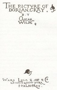 El retrato de Dorian Grey, de Oscar Wilde