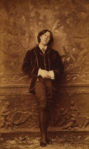 Oscar Wilde, fotografía de Napoleon Sarony