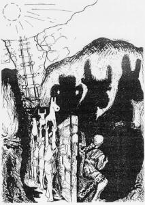 Alegoría de la caverna, de Markus Maurer