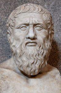 Busto de Platón, del siglo IV dC, copia romana de un original griego